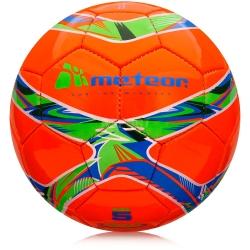 Piłka nożna, treningowa, rozmiar 4 360 SHINY HS czerwona Meteor