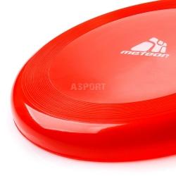 Talerz latający frisbee 228 mm czerwony Meteor