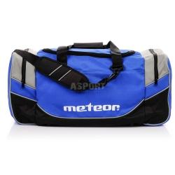 Torba sportowa, treningowa BALDUR 50L niebieska Meteor