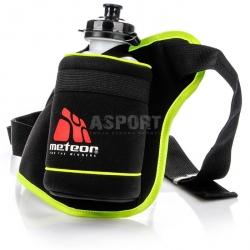 Pas, saszetka biodrowa do biegania, na jogging + bidon 500 ml Meteor