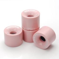 Kółka do deskorolki METEOR 60x45mm 4szt. różowe