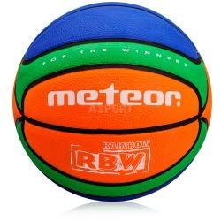 Piłka do kosza, na halę, na boiska asfaltowe CELLULAR #5 Meteor