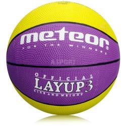 Piłka do koszykówki, kosza rozmiar 3 LAYUP Meteor