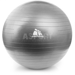 Piłka do ćwiczeń fitness, pilates, z pompką 85 cm Meteor