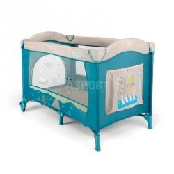 Łóżeczko, kojec, dziecięce, turystyczne MIRAGE BLUE BIRD Milly Mally