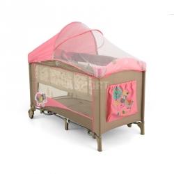 Łóżeczko, kojec, dziecięce, turystyczne , dwupoziomowe MIRAGE DELUXE Milly Mally