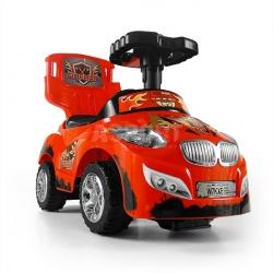 Jeździk, pchacz dziecięcy, pojazd 3w1 HAPPY zielony Milly Mally