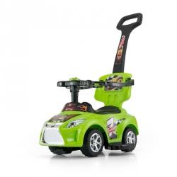 Jeździk, pchacz dziecięcy, pojazd 3w1 KID czerwony Milly Mally