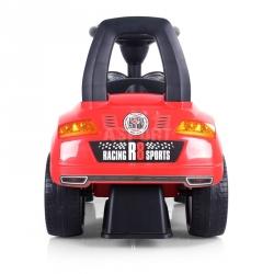 Jeździk, pchacz dziecięcy, pojazd RACER czerwony Milly Mally