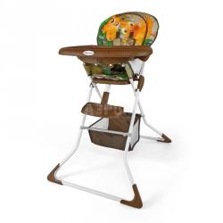Krzesełko do karmienia, krzesło MINI JUNGLE Milly Mally