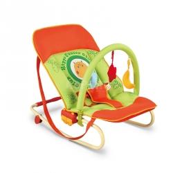 Leżaczek bujany dla niemowląt MAXI HIPPO Milly Mally
