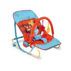 Leżaczek bujany dla niemowląt MAXI PIESEK Milly Mally