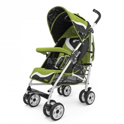 Wózek dziecięcy, spacerowy, od 6 miesięcy RIDER NEW GREEN Milly Mally