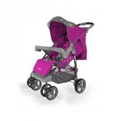 Wózek dziecięcy, spacerowy, od 6 miesięcy VIP PURPLE Milly Mally