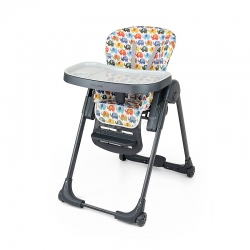 Krzesełko do karmienia + leżaczek do 3 lat MILANO ELEPHANT Milly Mally
