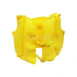 Dmuchana kamizelka 51 x 41 cm żółta