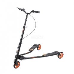 Fliker, hulajnoga 3-kołowa, dziecięca, młodzieżowa FL145 orange Nils