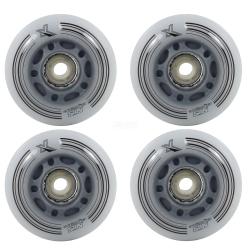 Świecące kółka rekreacyjne, LED, do rolek 24x70mm 4 szt. Nils Extreme