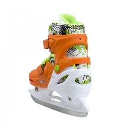 4w1: rolki, triskate, wrotki, łyżwy hokejowe, regulowane NH18330 pomar. Nils