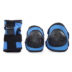 Ochraniacze na nadgarstki, �okcie, kolana H110 BLUE