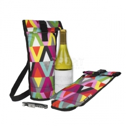 Torba termiczna, na wino, szampana, WINE BAG 1l PackIt