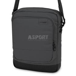 Torebka podr�czna na rami�, na tablet CITYSAFE LS150 8L czarna Pacsafe