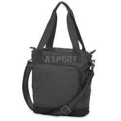 Torebka podr�czna, na laptop/tablet, damska CITYSAFE LS250 13L czarna Pacsafe