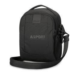 Bezpieczna torba miejska, antykradzieżowa, na ramię 3L LS100 czarna Pacsafe