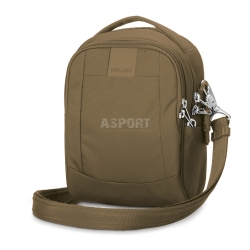 Bezpieczna torba miejska, antykradzieżowa, na ramię 3L LS100 beżowa Pacsafe
