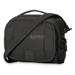 Bezpieczna torba miejska, antykradzieżowa, na ramię 5L LS140 czarna Pacsafe