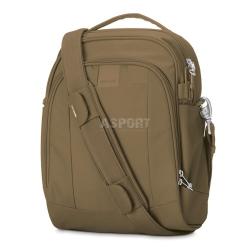 Bezpieczna torba miejska, antykradzieżowa, na ramię 12L LS250 beżowaPacsafe