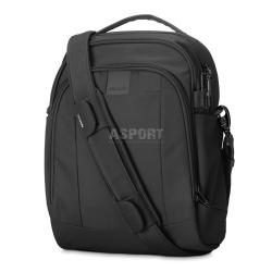 Bezpieczna torba miejska, antykradzieżowa, na ramię 12L LS250  czarna Pacsafe