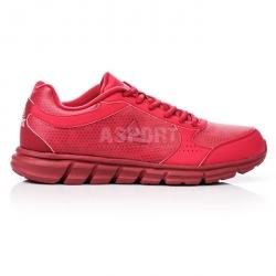 Buty do biegania, na jogging, sportowe, męskie E44223H czerwone Peak