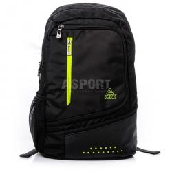 Plecak szkolny, sportowy, miejski B151060 21L czarno-zielony Peak