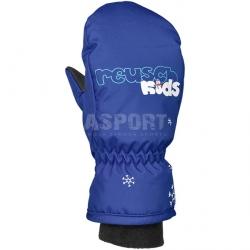 Rękawice dziecięce, zimowe, ocieplane, łapki KIDS MITTEN niebieskie Reusch
