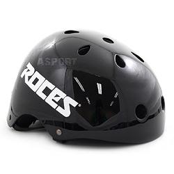 Kask ochronny dzieci�cy, rowerowy, na rolki AGGRESSIVE JR black Roces