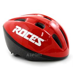 Kask ochronny dzieci�cy, rowerowy, na rolki FITNESS RED Roces
