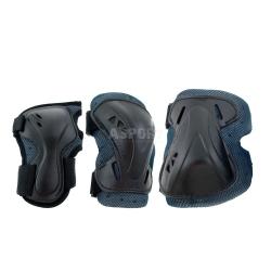 Ochraniacze dzieci�ce na nadgarstki, �okcie, kolana PRO JUNIOR Rollerblade