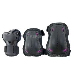 Ochraniacze damskie na nadgarstki, �okcie, kolana BLADEGEAR Rollerblade