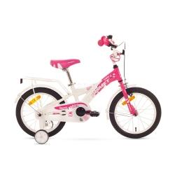 """Rower dzieci�cy, dziewcz�cy, aluminiowa rama, rozmiar ramy 8"""" DIANA Y 16 Romet"""