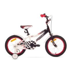 """Rower dzieci�cy, aluminiowa rama, rozmiar ramy 8"""" SALTO B 16 Romet"""