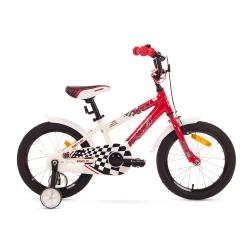 """Rower dzieci�cy, aluminiowa rama, rozmiar ramy 9"""" SALTO 16 R Romet"""
