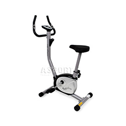 Rower mechaniczny VINTAGE srebrno-czarny Sapphire