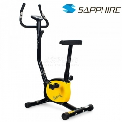 Rower mechaniczny VINTAGE czarno-żółty Sapphire