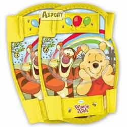 Ochraniacze dziecięce na kolana i łokcie KUBUŚ PUCHATEK żółte