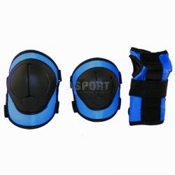 Ochraniacze dzieci�ce na nadgarstki, �okcie, kolana H110 BLUE