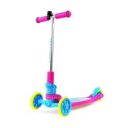 Hulajnoga 3-kołowa, dziecięca, składana SMJ Sport