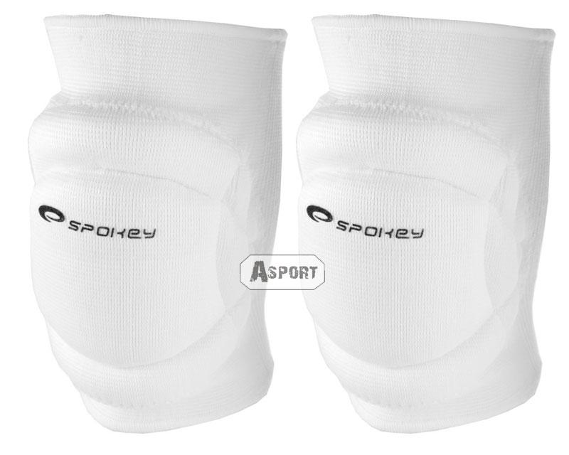 bffd9aaeb Nakolanniki siatkarskie SECURE białe Spokey | Asport-Junior.pl