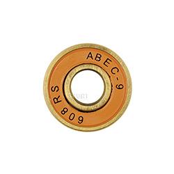 Łożyska do rolek ABEC9 RS miedziane 8szt. + tulejki dystansowe 4szt. Spokey
