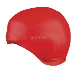 Czepek p�ywacki, silikonowy, os�ona uszu EARCAP RED Spokey